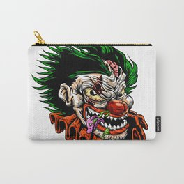 zombie evil clown Carry-All Pouch