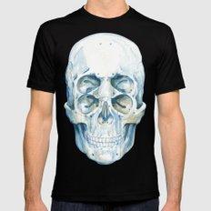 the 4i skull Black MEDIUM Mens Fitted Tee