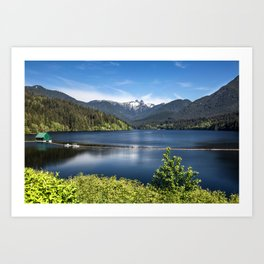 Capilano Lake Art Print