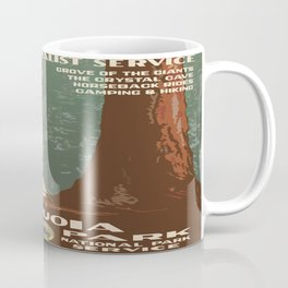 Vintage poster - Sequoia National ParkX Coffee Mug