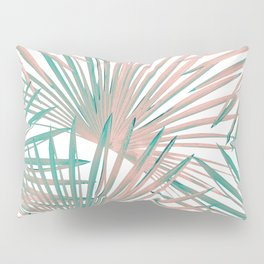 Tropical Fan Palm Leaves #8 #tropical #decor #art #society6 Pillow Sham
