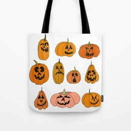 Jacks of all shapes and sizes Tote Bag