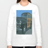 woody Long Sleeve T-shirts featuring Woody by Gerry High