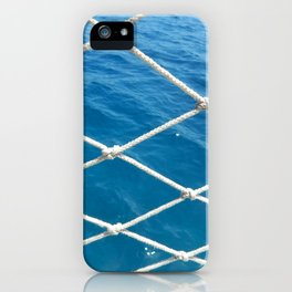 Yachting marina of Marmaris in Turkey resort town on the Aegean Sea iPhone Case