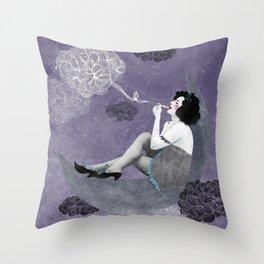 Insomnia Throw Pillow