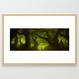 Pagan's Forest Framed Art Print