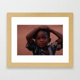 Kadi Framed Art Print