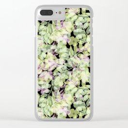 Retro .Summer days. Clear iPhone Case