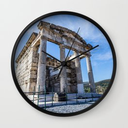 ruins of ancient city of Messina, Peloponnese Wall Clock