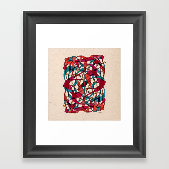 - dance - Framed Art Print