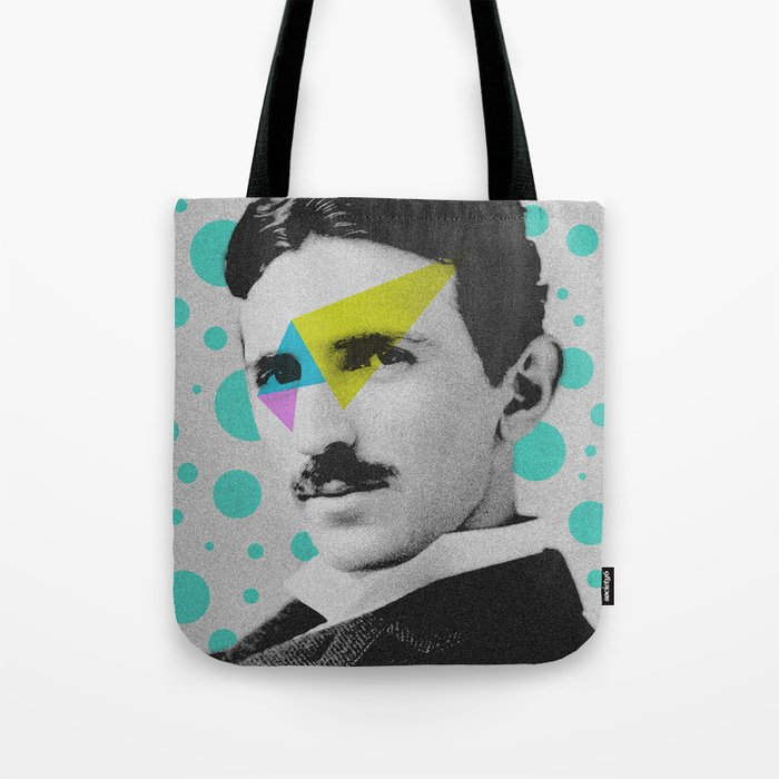 Nicola Tesla Tote Bag