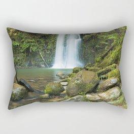 II - Rainforest waterfalls, Beauchamp Falls, Great Otway NP, Victoria, Australia Rectangular Pillow