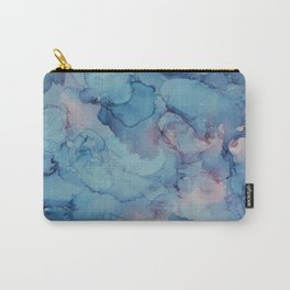 Crashing- Alcohol Ink Painting Carry-All Pouch