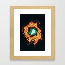 Metabolize Framed Art Print