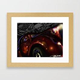 car Framed Art Print