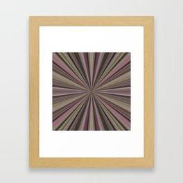 Candy Starburst Framed Art Print