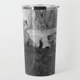 Fox Kits Sketch Travel Mug