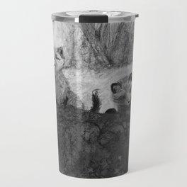 Fox Kits Sketch Travel Mug