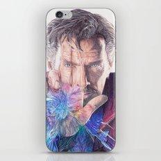 Dr Strange Pen Drawing iPhone & iPod Skin