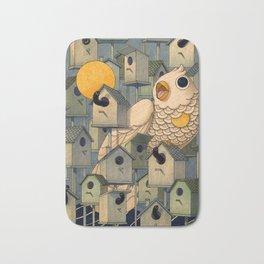 Birdhouses Bath Mat