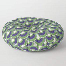 Koi Nobori Midori Floor Pillow