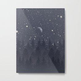Night Full Star Metal Print