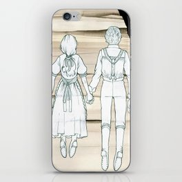 We Both Go Down Together iPhone Skin