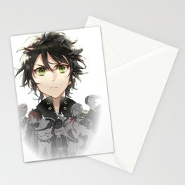 yuu and the reign Stationery Cards
