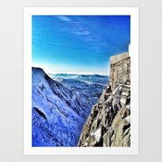 Mont-Blanc-France Art Print