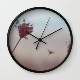 winter warming III Wall Clock