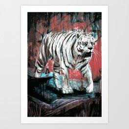 Byakko Art Print