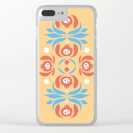 Pomegranates Clear iPhone Case