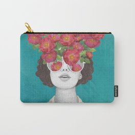 The optimist // rose tinted glasses Carry-All Pouch
