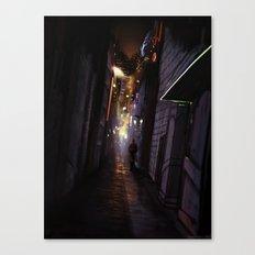 Kipple City Canvas Print