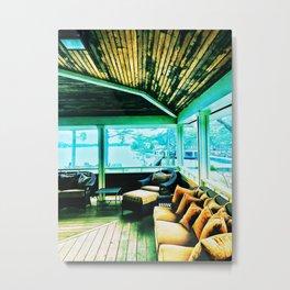 Porch Metal Print