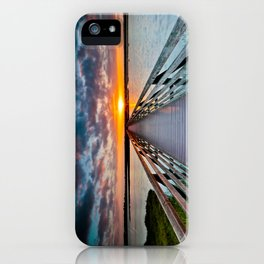 Bolsa Chica Wetlands Sunrise  6/18/14 iPhone Case