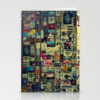 sticker Stationery Cards featuring sticker by gzm_guvenc