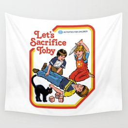 LET'S SACRIFICE TOBY Wall Tapestry