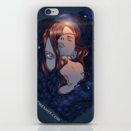 To Dream is to Die - Brenna Whit - Colored iPhone Skin