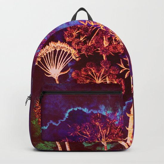 dandelions in the storm Backpack