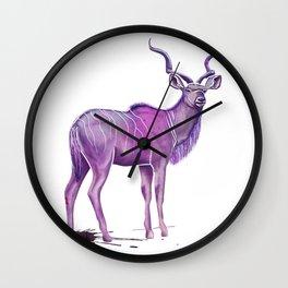 kudu Wall Clock