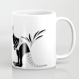 Kangaroo Pattern Coffee Mug