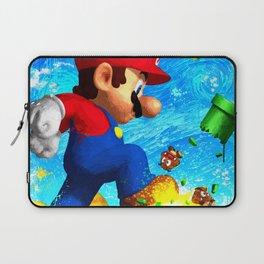 Super Mario Van Gogh style Laptop Sleeve