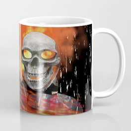 Fire Man Ghost Rider Coffee Mug