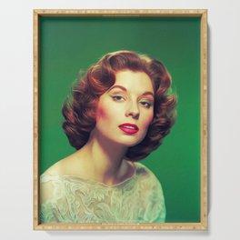 Suzy Parker, Vintage Actress Serving Tray