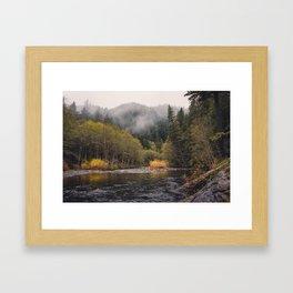 Salmon River I Framed Art Print