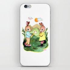 Happy Birthday Little Rabbit iPhone & iPod Skin