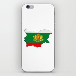 Bulgarian map iPhone Skin