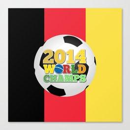 2014 World Champs Ball - Belgium Canvas Print