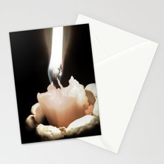 United with fire (Moth) Stationery Cards